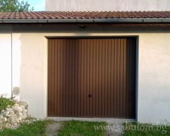 Up-and-over garage door
