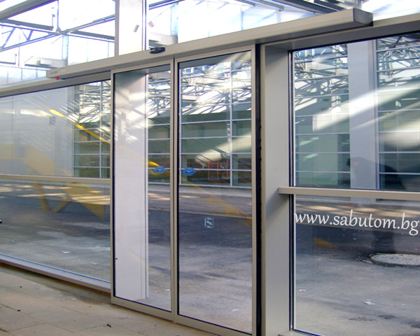 Sliding Automatic Glass Door Sliding Automatic Glass Door With